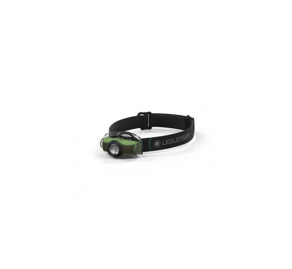LEDLENSER čelovka MH4- zelená