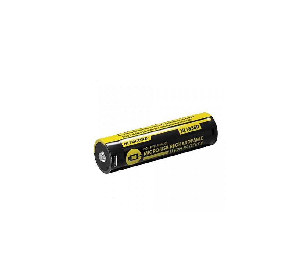 18650 Li-ion batéria 3500mAh Micro-USB