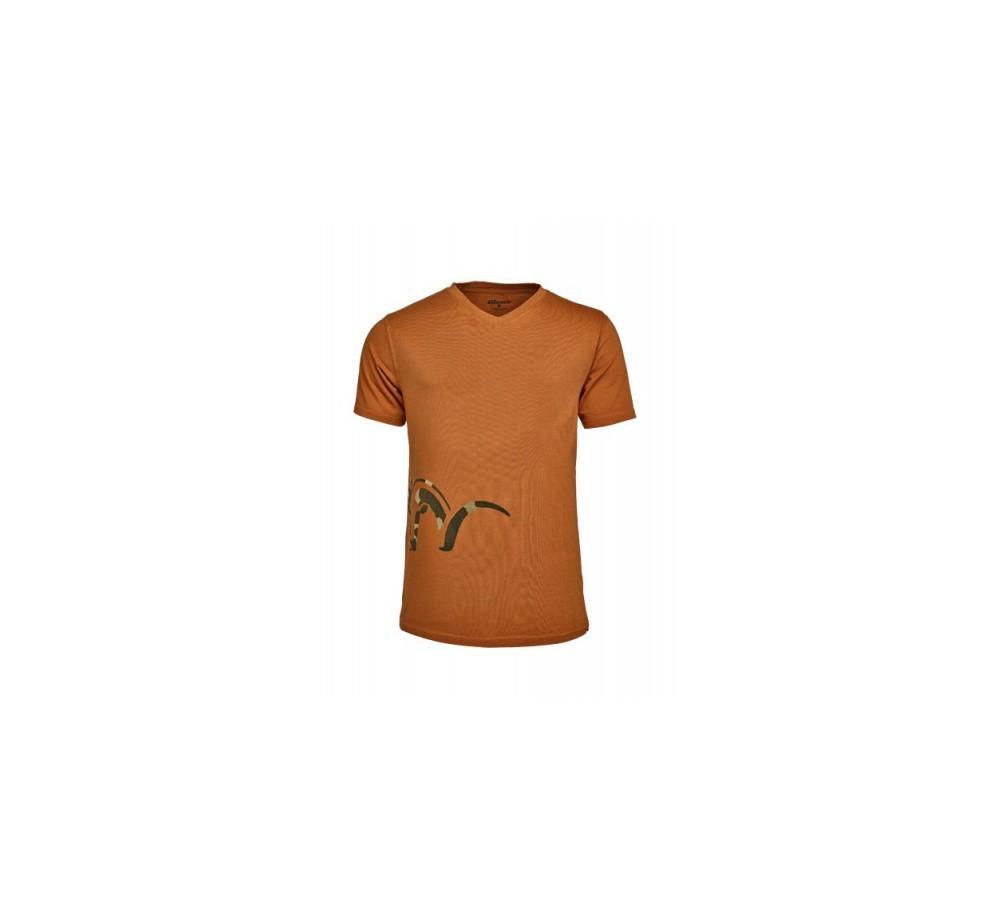 Tričko Blaser Logo V - ohnivo oranžové