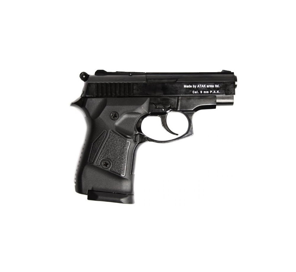 Plynová pištoľ Atak Zoraki 914 , čierna, kal. 9 mm