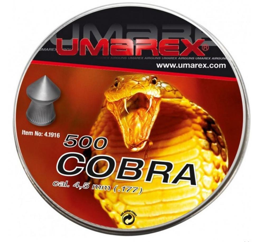 Diabolo Cobra 4,5mm 500ks