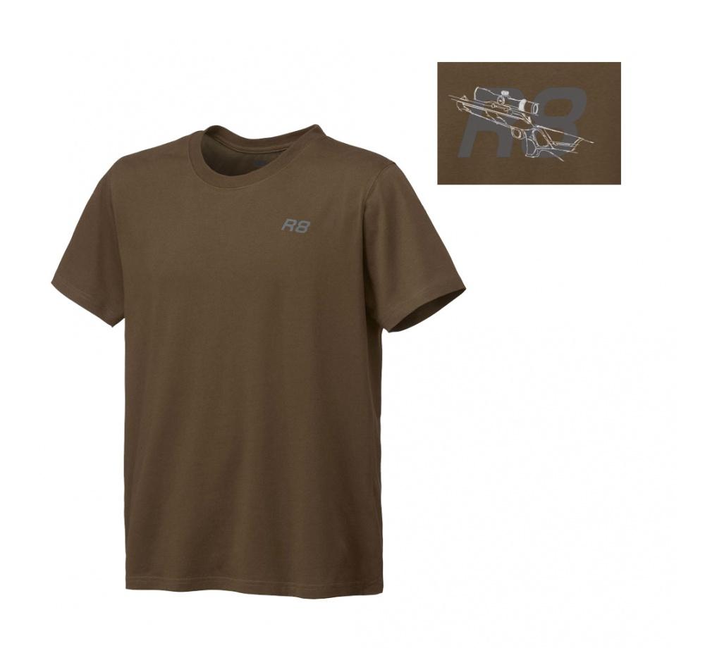 Tričko Blaser R8 hnedé