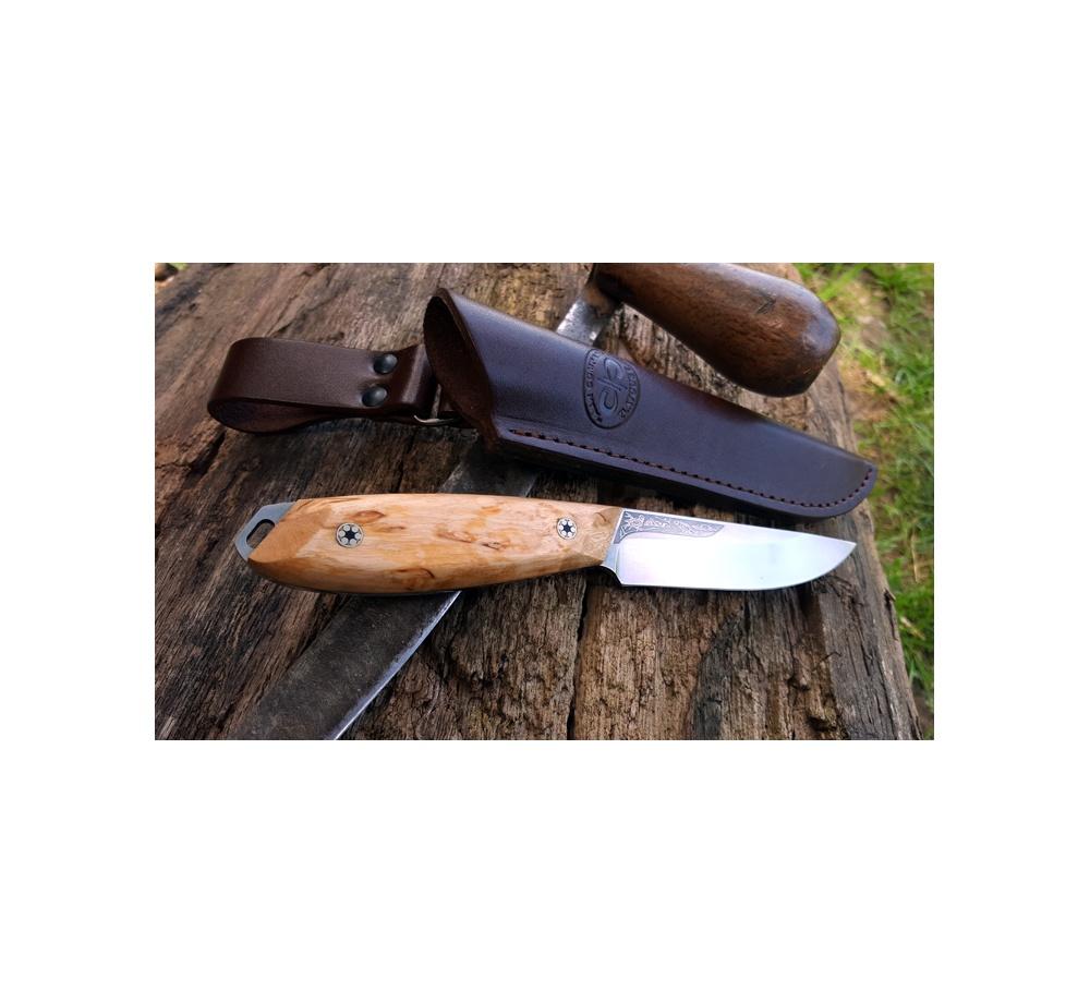 Nôž A&R Zlatoust ŽULAN - karelská breza