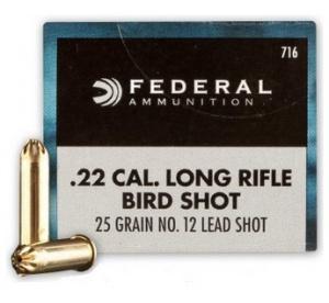 .22LR Federal Shotshell...
