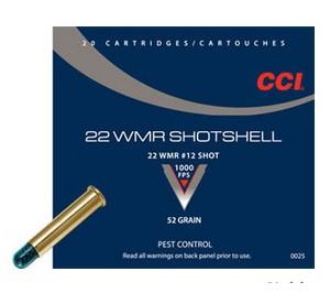 .22WMR CCI Shotshell (brokový)
