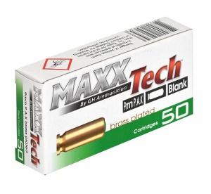 Nábojky štart. MAXXTech 9mm...