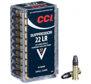.22LR CCI Suppressor...