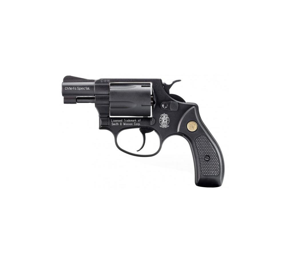 Revolver exp. S&W Chiefs Special čierny, 9mm