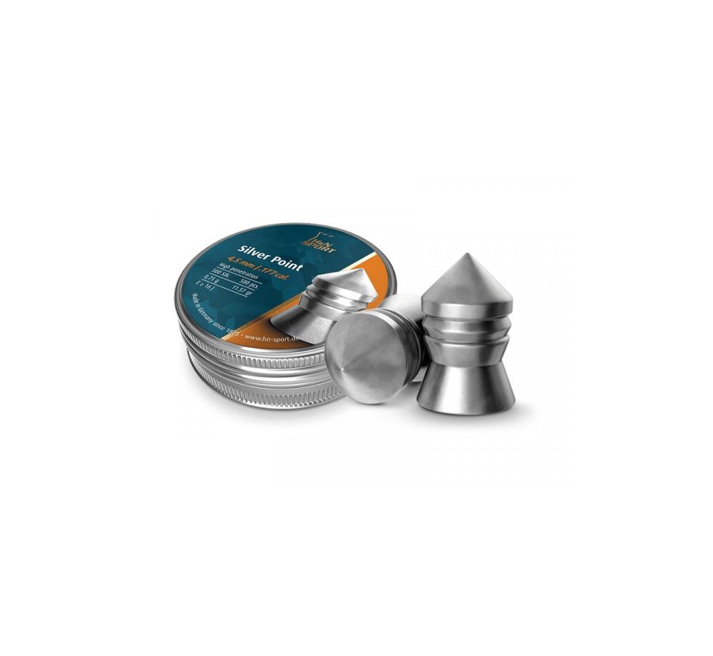 Diabolo H&N Silver Point 4,5mm 500ks