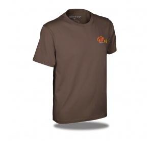 Blaser tričko F3- hnedé