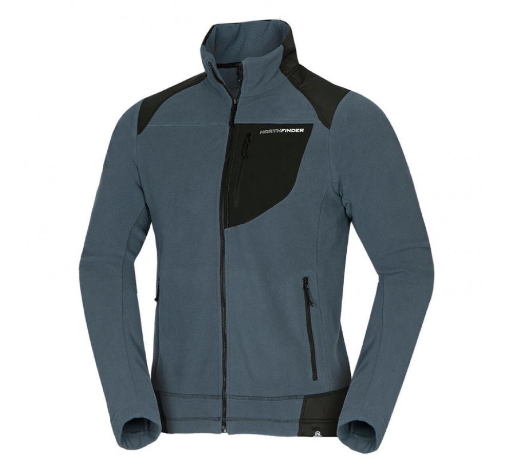 NORTHFINDER pánska mikina thermal fleece 320 NORTHPOLARS