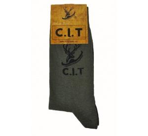 Ponožky pánske C.I.T. - zelené
