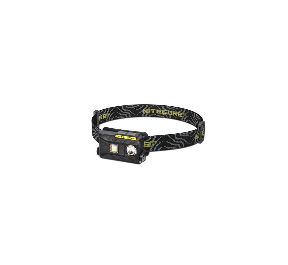 Svietidlo NU25- čelovka-čierna